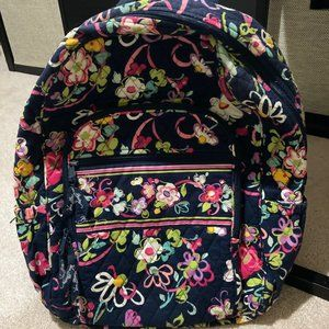 "Vera Bradley Campus Backpack ""Ribbons"""